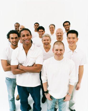 smiling guys